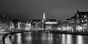 Haarlem in Schwarz und Weiß von Harro Jansz