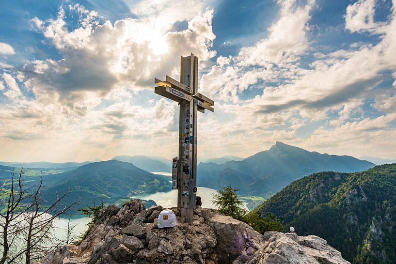Panorama bij het topkruis van de Drakenmuur van MindScape Photography