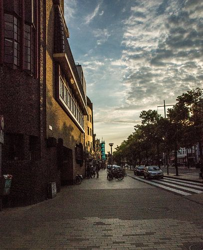 Gedempte Zuiderdiep Groningen von Elsa Datema