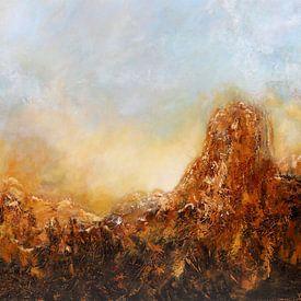 Zon in de bergen van Christian Carrette