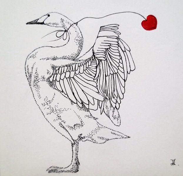 HeartFlow Zwaan von Helma van der Zwan