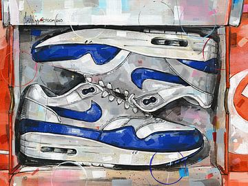 Nike air max 1 Gemälde. von Jos Hoppenbrouwers