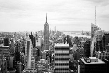 Manhattan Skyline von Ben Hoedt