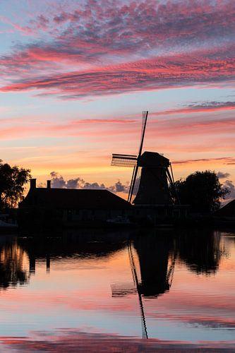 Een Hollandse zonsondergang van