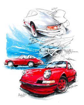 Porsche 911 Carrera (1963) von Martin Melis