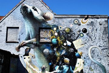 Maus Wandmalerei / Wandmalerei / Breda Niederlande Die Niederlande von Maurits Bredius