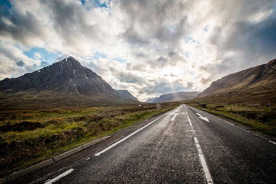 Landschap in Schotland van Marcel Keurhorst