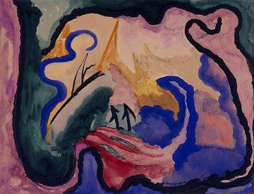 Komposition, Jacoba van Heemskerck - 1919 von Atelier Liesjes