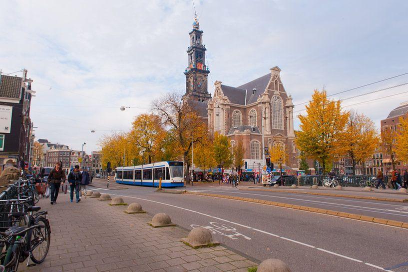 Amsterdam Street van Brian Morgan
