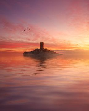 Die Ile d'Or bei Cap Dramont. von Yannick Lefevre