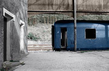 Le train bleu sur Raoul Suermondt