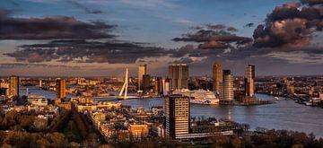 Rotterdamse skyline von Harmen Goedhart