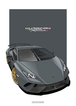 Lamborghini Huracan Performante von Car On Paper