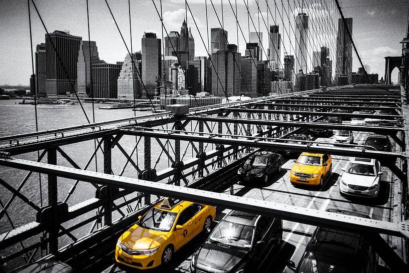 Brooklyn Bridge New York City van Bart van Dinten
