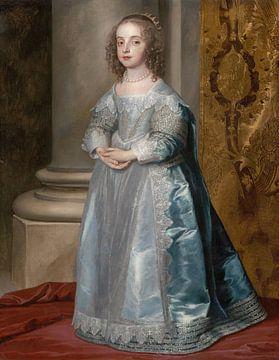 Princesse Marie, fille de Charles Ier, Anthony van Dyck sur