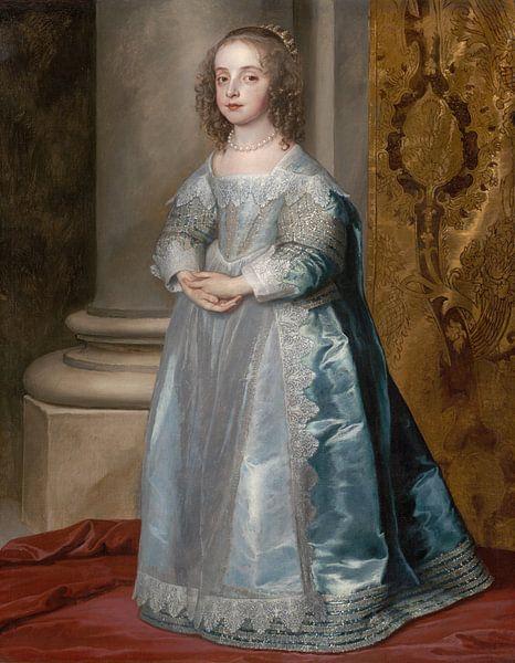 Prinzessin Mary, Tochter von Karl I., Anthony van Dyck von Meesterlijcke Meesters