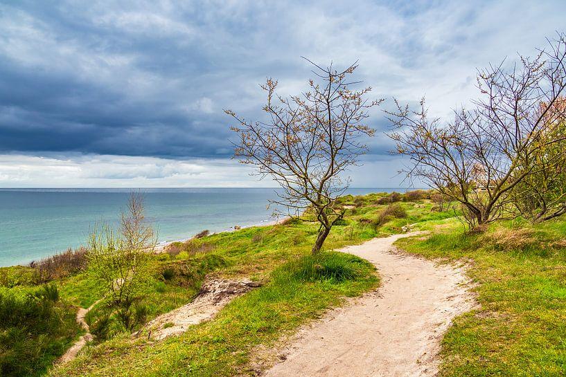Landschaft an der Ostseeküste bei Meschendorf von Rico Ködder