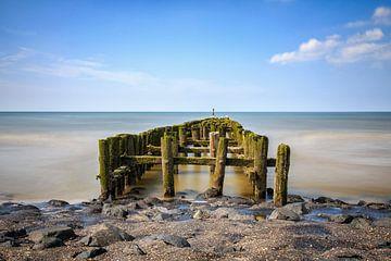 Golfbrekers aan de Zeeuwse kust van Natascha Velzel