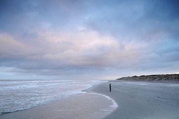 Strand van Vlieland (Friesland) sur Tjitte Jan Hogeterp