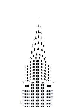 Chrysler-Gebäude von Govart (Govert van der Heijden)