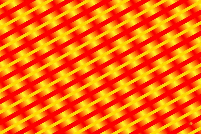 Geometric composition #12 van Jan Everink