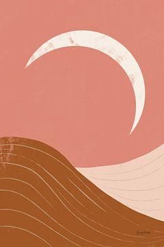 Woestijn Sunrise II, Becky Thorns van Wild Apple