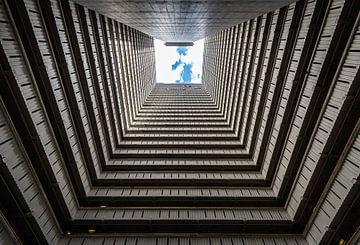 Bijzondere architectuur in Hong Kong. van Claudio Duarte