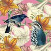 Blue Birds van Marja van den Hurk thumbnail