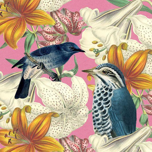 Blue Birds van Marja van den Hurk