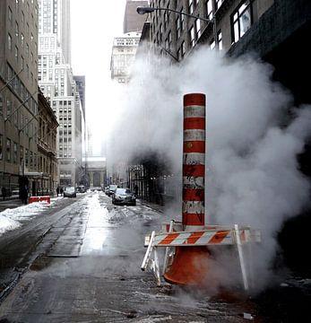 'Stoom en kou', New York  von Martine Joanne
