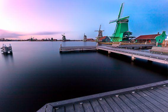 World Heritage Windmills of Zaanse Schans van Madan Raj Rajagopal