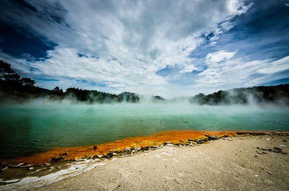 Champagne Pool - Nieuw Zeeland van Ricardo Bouman | Fotografie
