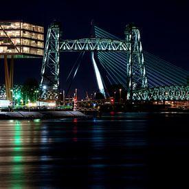 De Hef und Erasmus-Brücke von Vivo Fotografie