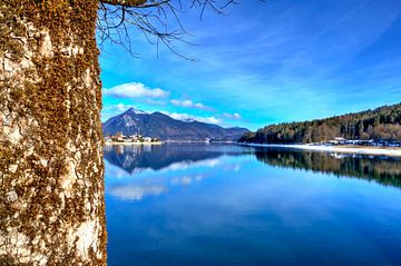 Alpine geluk op de Walchensee van Roith Fotografie