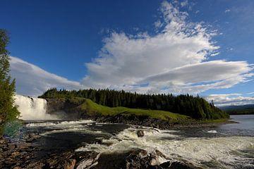 Tännforsen Wasserfall in Schweden von Lars Tuchel