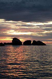Similan Islands sunset van