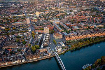 Luchtfoto Maastricht van Aron Nijs
