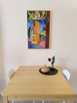 Kundenfoto: Türkisches Café, August Macke
