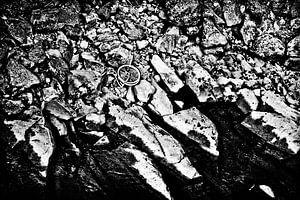 Verlaten fiets van