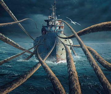Attrapé le navire, sulaiman almawash sur 1x