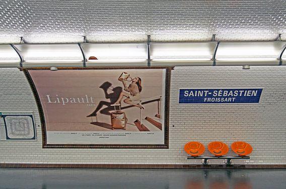 Metro station van Parijs