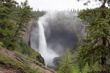 Wells Gray waterval in Canada van Joost Winkens