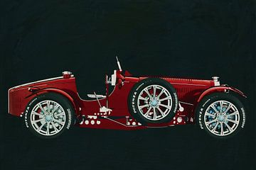 Bugatti Phoenix Concept Zijaanzicht
