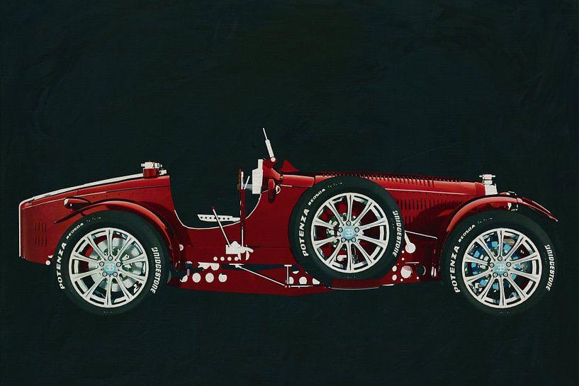 Bugatti Phoenix Concept Zijaanzicht van Jan Keteleer