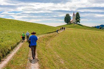 Op weg naar de kerk van Lars-Olof Nilsson