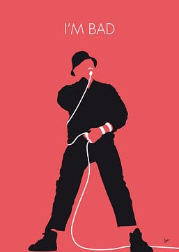 No112 MY LLCOOLJ Minimal Music poster van Chungkong Art