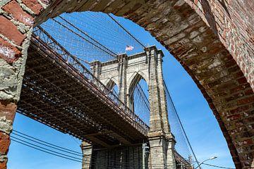 NY Brooklyn Bridge (detail)