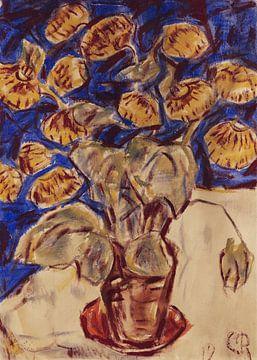 Pantoffelblume, Christian Rohlfs, 1919 von Atelier Liesjes
