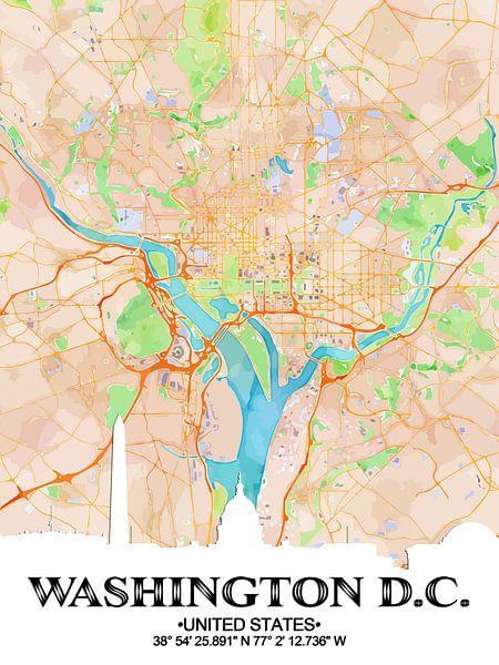 Washington D.C. von Printed Artings