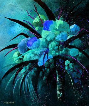 Blaues Stilleben von pol ledent